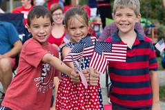Party In The Park (UAOH) Tags: fourthofjuly party park kids celebration fourth flag
