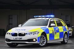 LJ67 EMF (S11 AUN) Tags: durham constabulary bmw 330d 3series xdrive touring anpr police traffic car rpu roads policing unit 999 emergency vehicle lj67emf