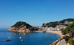 Tossa De Mar (barbaramartin1211) Tags: beach sun summer holidays spain coast water sea