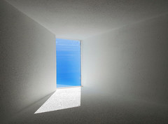 into the blue (Marc McDermott) Tags: texture abstract passage blue shadow light s7 samsung minimalism