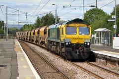 COATBRIDGE CENTRAL 66416 (johnwebb292) Tags: diesel class 66 66416 freightliner coatbridge