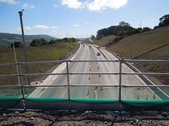 gilwern to brynmawr a465 heads of the valleys road dualling june 2018 t (Dskies) Tags: road building construction major works tarmac bridges wlaes wales june sunny