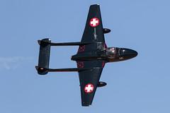 De Havilland Vampire (Trent Bell) Tags: lancaster foxairfield airport losangelescounty airshow 2018 california aircraft dehavilland vampire