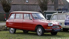Citroën Ami 8 Break 1972 (XBXG) Tags: ar7773 citroën ami 8 break 1972 citroënami8 citroënami ami8 stationcar stationwagen station wagon kombi estate red rood rouge atype markt 2018 gemert koks koksedijk noordbrabant brabant nederland holland netherlands paysbas vintage old classic french car auto automobile voiture ancienne française vehicle outdoor