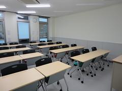 一般教室(前方より)