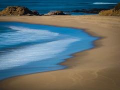 Blue Edge 02 (Charlie Day DaytimeStudios) Tags: beach beanhollowstatebeach ca california coastline highway1 landscape ocean pacificcoast pacificcoasthighway rocks surf