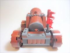 """Dwarven """"Big Boomer"""" Cannon v2.0 (Nick """"Nightstalker"""") Tags: castle afol brickwarriors lego brickforge saberscorpion"""