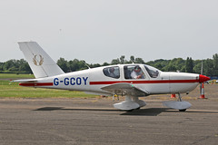 G-GCOY Socata TB-9 Tampico North Weald Air Britain Fly-In 18th June 2017 (michael_hibbins) Tags: ggcoy socata tb9 tampico north weald air britain flyin 18th june 2017 aviation aircraft aeroplane aerospace airplane aero airfields single private civil general prop props propeller piston g uk british
