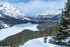 Bow summit and Peyto Canadian Rockies (gri_mountainlakes) Tags: banffnationalpark peytolake randonneur