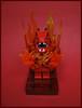Hellbound (Karf Oohlu) Tags: lego moc minifig collectibleminifig series18 dragon hellbound inchains