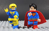 Booster Gold and Superman (-Metarix-) Tags: lego superhero minifig dc comics comic action superman booster gold future rebirth universe new 52 team up