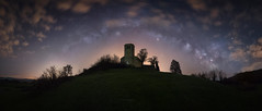Via Lactea Valdeolea (Pablo RG) Tags: cantabria via lactea night nikon spain nightphotography sky stars estrellas clouds nubes valdeolea