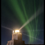 Lighthouse Under the Northern Lights thumbnail