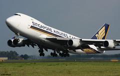 Singapore Airlines Cargo Boeing 747-412F 9V-SFN / AMS (RuWe71) Tags: singaporeairlinescargo sqsqc sincargo singcargo singaporeairlines singapore boeing boeing747 boeing747f b747 b747f b744 b744f boeing747400 boeing747412 boeing747412f boeing747400f 9vsfn cn328991342 amsterdamairport amsterdamschiphol amsterdamschipholairport schiphol schipholairport schipholamsterdam ams eham polderbaan widebody winglets jumbo queenoftheskies cargo freighter cargoaircraft runway