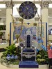 Chicago, Macy's Flower Show, Once Upon Springtime, Throne and Clock (Mary Warren 10.3+ Million Views) Tags: chicago macys flowershow blue chair throne clock child boy nature flora plants blooms blossoms flowers orchids hydrangeas