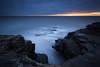 What Lurks Beneath (Justin Cameron) Tags: lee longexposure sunrise waterfall leegraduatedfilter dawn leebigstopper seascape whitburn canonef1635mmf4lisusm canon5dmkiii rocks