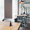 nejen (mennyj) Tags: vacation 2018 march international travel wanderlust europe mobile iphone iphone7 prague czech republic czechia karlin nejen restaurant simple design style scandinavian nordic hygge cozy reserved mint green wood floor tile