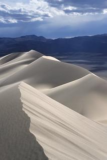 The Eureka Dunes, Death Valley