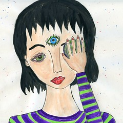 specklebabe (○ Hanna Lee ○) Tags: art illustrations illustrator illustrators artwork artist artists artistsontumblr artistsoftumblr tumblrartcommunity tumblrart tumblrartist tumblrartists outsiderart outsiderartist outsiderartists outsiderartwork rawart artbrut artnaif naiveart selftaughtartist selftaughtartists artjournal artjournaling artjournalling artjournals myart myartwork thirdeye spiritual trippy psychedelic trippyart psychedelicart illustrationartist