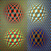 Stri-oet by Vasarely 1979