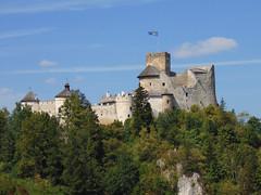 Niedzica Castle (cutebeets) Tags: niedzica castle pieniny mountains trees landscape view czorsztyn lake zamek góry drzewa sky niebo poland polska