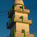 Minaret of a mosque in town, Woqooyi Galbeed region, Hargeisa, Somaliland