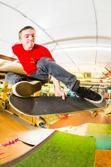 Tweaked Melon Grab (brendon_curtis) Tags: canon 5dmkiii eos usm 15mm f28 fisheye lens skate skateboard skateboarding robbie boneless skater rad skatepark tucked melon grab vert flash strobes
