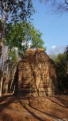 Prasat Yeay Puon Group, Sambor Prei Kuk (Travolution360) Tags: cambodia sambor prei kuk prasat yeay puon group amcient ruins bricks history khmer ways angkor wat kampong thom tuktuk forest nature travel