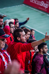 _MG_7467 (sergiopenalvagonzalez) Tags: futbol domingo palma de mallorca pelota jugadores aficion rojo negro pasion
