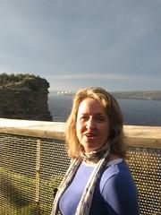 Sandy at the cliffs, Watson's Bay, Sydney (d.kevan) Tags: sandy fences cliffs sydney australia thegap watsonsbay tasmansea