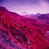 Mount St. Helens (Lisa Burke Photography) Tags: aerochrome kodak film 120rollfilm washingtonstate volcano super ricohflex infrared mountain