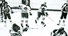 Winnipeg Jets vs New York Golden Blades (vintage.winnipeg) Tags: winnipeg manitoba canada vintage history historic sports winnipegjets