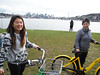 Christina & Isabelle with Bicycles (Sotosoroto) Tags: seattle washington wallingford biking gasworkspark gasworks lakeunion