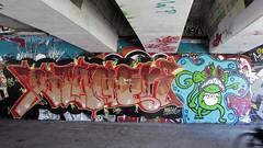 / Keizerviaduct - 17 apr 2018 (Ferdinand 'Ferre' Feys) Tags: gent ghent gand belgium belgique belgië streetart artdelarue graffitiart graffiti graff urbanart urbanarte arteurbano ferdinandfeys