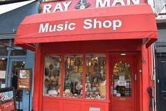 DSC_4314 London Camden Lock Chalk Farm Road Ray Man Music Shop (photographer695) Tags: london camden lock chalk farm road ray man music shop