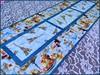 838_Le Café Table Runner (QuiltinWaYnE) Tags: quilted handmade kitchentabledecor diningtabledecor coffeetabledecor dresserdecor tablemat tablerunner tabledecor quiltedtablerunner credenzamat quiltedrunner quiltsy etsyseller etsyquilter etsy etsyshop etsyhandmade qqqetsy sideboardmat quiltedtabledecor tablelinen kitchenislanddecor handmadequilt tablequilt