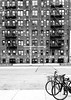 7th Ave Greenwich (MassiveKontent) Tags: west village manhattan nyc people road building fireescapes brick asphalt newyorkcity noiretblanc blackwhite montreal bw contrast city monochrome urban blackandwhite streetphoto streetphotography bwphotography streetshot architecture bicycle bike westvillage