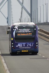 Fife Scottish Omnibuses Ltd - 26167 - SN67WWM; Forth Road Bridge; 09-06-2018 (graeme8665) Tags: stagecoachfife alexanderdennis adlenviroe300mmc jet747 forthroadbridge