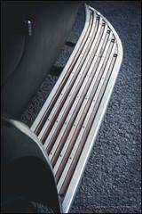Lagonda running board (G. Postlethwaite esq.) Tags: bluebell dof derbyshire farnahgreen sonya7mkii bokeh cars classicvehicle depthoffield motorbike photoborder selectivefocus