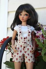 Minifee outfit.... (dambuster01) Tags: minifee tanned fairyland chloe customfaceupbyviridianhouse mnf sewingbydambuster01 sewingbysharoninspain bjd resin jointed