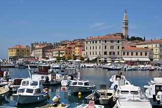 Hafen von Rovinj - Kroatien