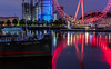 Morning blues..... and reds (Aleem Yousaf) Tags: flickr ship castle design day morning blue hour red london eye nikkor 2470mm tattershall river dof silhouette thames city twilight reflections uk long exposure england outdoor cityscape united kingdom waterfront lights colours colorful architecture ferris wheel south bank photo walk photography