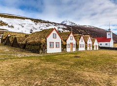 Laufás and Laufáskirkja (Einar Schioth) Tags: laufas laufás laufaskirkja house houses church winter day sky snow sunshine sun sigma sigma2470 canon clouds cloud vividstriking nationalgeographic ngc nature mountain landscape photo picture outdoor iceland ísland ice einarschioth