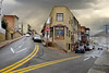 Jerome Arizona - flatiron (TAC.Photography) Tags: jerome artisans arizona storms flatironbuilding arizonapassages tacphotography tomclarknet