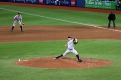 Pitch (scienceduck) Tags: 2018 june scienceduck baseball pitcher yankees bluejays toronto tdot ontario canada skydome rogerscentre new york newyork newyorkyankees torontobluejays