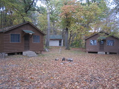 Haunted cabins (Pictures by Ann) Tags: countdowntohalloween halloween activities familytradition holiday olivia spooky cabin house fright party