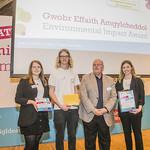 Echo, picking up the Environmental Impact Award
