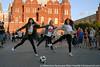 Soccer dance (maxilla-k) Tags: soccer танцы москва футбол спорт девушки памятник