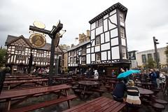 Manchester (Bob Bain1) Tags: uk pub manchester england exchangesquare canoneos theoldwellington