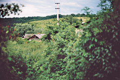 in the village (Vinzent M) Tags: zniv ukraine lviv lemberg lwow львів україна village fujica ax5 porst cr7 fujinon 16